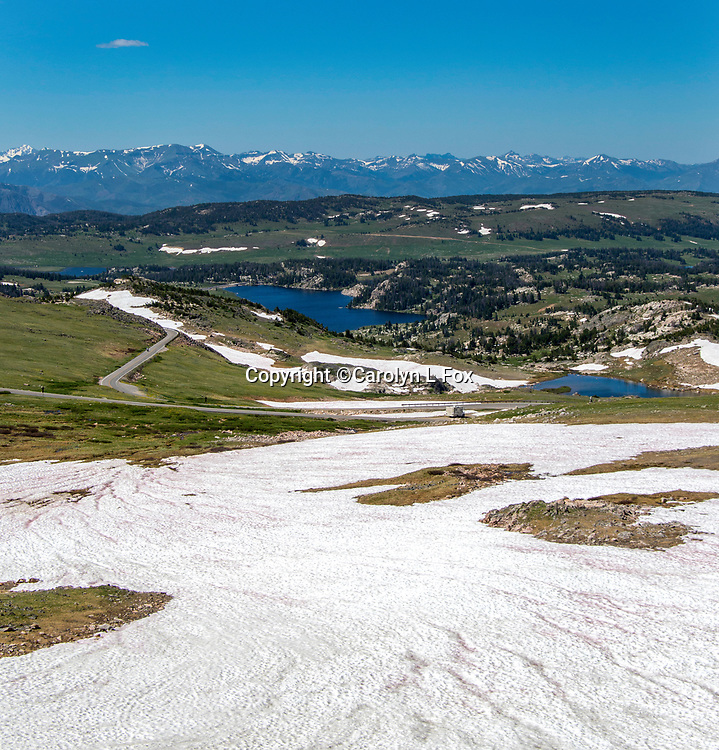 The drive across Beartooth Highway is considered one of the most scenic drives in the United State.