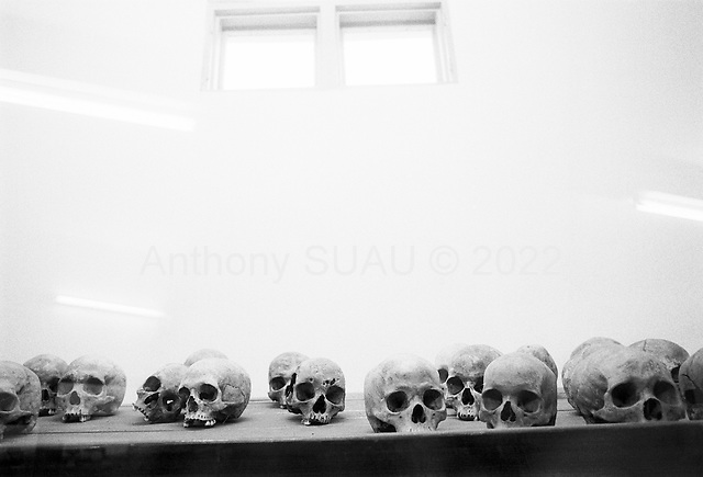 Kigali, Rwanda<br /> February 2004<br /> <br /> The genocide memorial in central Kigali where over 20,000 bodies will be laid to rest.