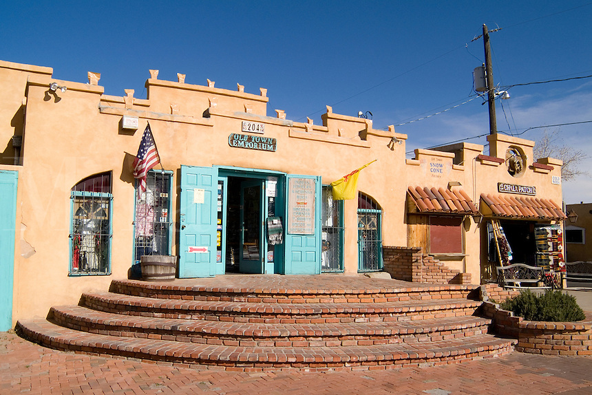 Famous Landmark of Old Town Chili Patch Store in Albuquerque New Mexico US