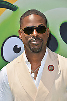 """LOS ANGELES, USA. August 10, 2019: Sterling K. Brown at the premiere of """"The Angry Birds Movie 2"""" at the Regency Village Theatre.<br /> Picture: Paul Smith/Featureflash"""