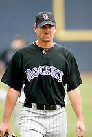 Brandon Hynick - Colorado Rockies - 2009 spring training.Photo by:  Bill Mitchell/Four Seam Images