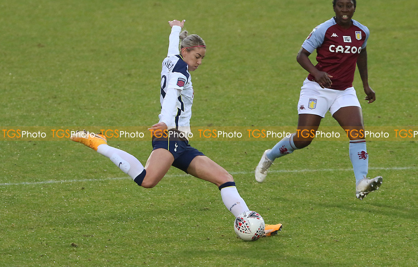 Alanna Kennedy of Tottenham Hotspur during Tottenham Hotspur Women vs Aston Villa Women, Barclays FA Women's Super League Football at the Hive Stadium on 13th December 2020
