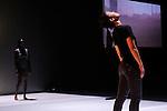 ARCHIPELAGO....Choregraphie : MICHELETTI Frank..Mise en scene : MICHELETTI Frank..Video : KRONENBERG Romain..Compagnie : Cie Kubilai Khan Investigations..Decor : MICHELETTI Frank..Lumiere : MATHIS Yvan..Avec :..CHICHAVA Idio..MICHELETTI Frank..NAA AVELEY OKINE Sarah..NAKAGAWA Ikue..AURINE BELLOC Remi..Lieu : Maison des Arts de Creteil..Ville : Creteil..Le : 08 12 2011..© Laurent PAILLIER / photosdedanse.com..All rights reserved