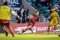 22nd May 2021; Twickenham, London, England; European Rugby Champions Cup Final, La Rochelle versus Toulouse; Juan Cruz Mallia of Toulouse scores a try in the corner