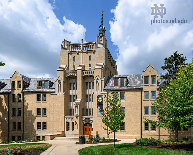 August 5, 2019; Morrissey Manor following 2018-19 renovation work (Photo by Matt Cashore/University of Notre Dame)