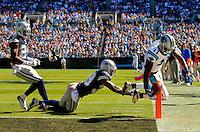 The Carolina Panthers vs. the Dallas Cowboys at Bank of America Stadium in Charlotte, North Carolina.Photos by: Patrick Schneider Photo.com