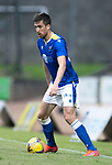 St Johnstone v Preston North End…13.07.21  McDiarmid Park<br />Callum Booth<br />Picture by Graeme Hart.<br />Copyright Perthshire Picture Agency<br />Tel: 01738 623350  Mobile: 07990 594431