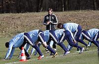 06.03.2013: U19 Nationalmannschaft Training