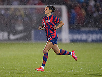 EAST HARTFORD, CT - JULY 1: Carli Lloyd #10 of the USWNT takes the field during a game between Mexico and USWNT at Rentschler Field on July 1, 2021 in East Hartford, Connecticut.
