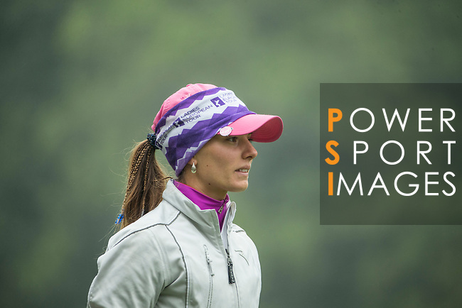 Klara Spilkova of Czech Republic walks on the course at the 12th hole during Round 3 of the World Ladies Championship 2016 on 12 March 2016 at Mission Hills Olazabal Golf Course in Dongguan, China. Photo by Victor Fraile / Power Sport Images