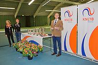 March 15, 2015, Netherlands, Rotterdam, TC Victoria, NOJK, Presentation by Martin Koek<br /> <br /> Photo: Tennisimages/Henk Koster