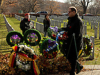 Montreal, CANADA - Nov 11 - Mario Beaulieu, leader, Bloc Quebecois attend  the ceremony of Remembrance Day ornanized by the Societe Saint-Jean-Baptiste du Quebec (SSJB),  november 11, 2014 in Cote-des-neiges cemetary.<br /> <br /> Photo :  Agence Quebec Presse - Pierre Roussel
