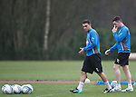 Chris Hegarty and Ross Perry back on the training field