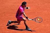 30th May 2021; Roland Garros, Paris, France; French Open Tennis championships, day 1;  Fabio Fognini Ita