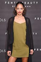 arriving for the Fenty Beauty by Rihanna launch party at Harvey Nichols, London<br /> <br /> <br /> ©Ash Knotek  D3310  19/09/2017