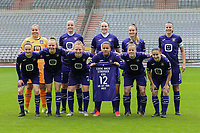 team of Anderlecht with up from lL to R : goalkeeper Justien Odeurs (13) of Anderlecht   Tine De Caigny (6) of Anderlecht   Britt Vanhamel (4) of Anderlecht   Tessa Wullaert (27) of Anderlecht   Laura De Neve (8) of Anderlecht   down from L to R  Elke Van Gorp  (7) of Anderlecht   Sarah Wijnants (11) of Anderlecht   Charlotte Tison (20) of Anderlecht   Mariam Abdulai Toloba (19) of Anderlecht   Laura Deloose (14) of Anderlecht   Stefania Vatafu (10) of Anderlecht      pictured during a female soccer game between RSC Anderlecht Dames and Oud Heverlee Leuven on the seventh matchday of play off 1 of the 2020 - 2021 season of Belgian Womens Super League , saturday 15 th of May 2021  in Brussels , Belgium . PHOTO SPORTPIX.BE | SPP | SEVIL OKTEM