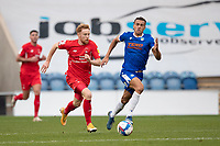 James Brophy, Leyton Orient breaks quickly during Colchester United vs Leyton Orient, Sky Bet EFL League 2 Football at the JobServe Community Stadium on 14th November 2020