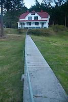 Lighthouse Keepers' House, Stuart Island, Washington, US