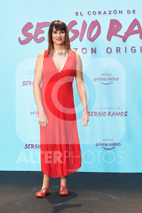 Irene Villa in the world preview of EL CORAZÓN DE SERGIO RAMOS, documentary series about the life of the captain of Real Madrid and the Spanish Soccer Team, at the Reina Sofía Museum on September 10, 2019 in Madrid, Spain.<br />  (ALTERPHOTOS/Yurena Paniagua)