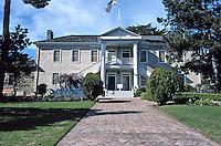 Colton Hall, Pacific Street, 1847-49.  Between Madison & Jefferson.