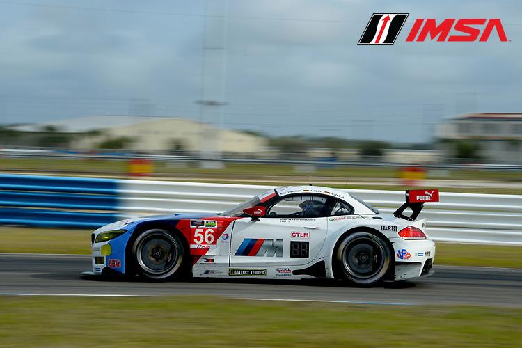 20-12 February, 2014, Sebring, Florida, USA<br /> #56, BMW, Z4 GTE, GTLM, Dirk Muller, John Edwards<br /> @2014, Richard Dole<br /> LAT Photo USA