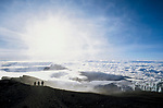 Kilimanjao ascent, Tanzania, 2006.