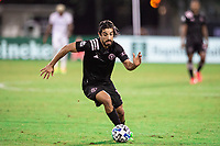 LAKE BUENA VISTA, FL - JULY 14: Rodolfo Pizarro #10 of Inter Miami dribbles the ball during a game between Inter Miami CF and Philadelphia Union at Wide World of Sports on July 14, 2020 in Lake Buena Vista, Florida.