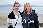 Enjoying a stroll in Ballyheigue on Sunday, l to r: Amy O'Doherty and Gloria Mulcahy.