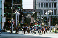 Osaka: Shopping Mall--street scene. Photo '82.