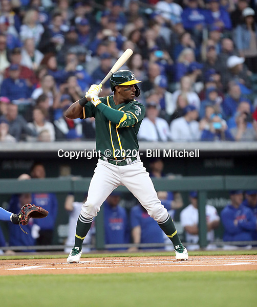 Jorge Mateo - Oakland Athletics 2020 spring training (Bill Mitchell)