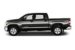 Car Driver side profile view of a 2016 Toyota Tundra SR-Crew 4 Door Pickup Side View