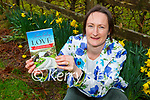 Maire O Leary Barradubh with her new novel Freewheeling to Love