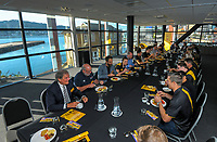 Cricket Wellington commercial breakfast at Kumutoto Function Centre in Wellington, New Zealand on Friday, 18 December 2020. Photo: Dave Lintott / lintottphoto.co.nz