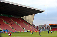 A general view of the second half action at Gresty Road, home of Crewe Alexandra<br /> <br /> Photographer Rich Linley/CameraSport<br /> <br /> The EFL Sky Bet League One - Crewe Alexandra v Blackpool - Saturday 17th October 2020 - Gresty Road - Crewe<br /> <br /> World Copyright © 2020 CameraSport. All rights reserved. 43 Linden Ave. Countesthorpe. Leicester. England. LE8 5PG - Tel: +44 (0) 116 277 4147 - admin@camerasport.com - www.camerasport.com