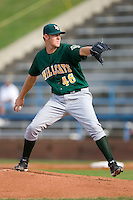 Starting pitcher Nate Adcock #46 of the Lynchburg Hillcats in action versus the Winston-Salem Dash at Wake Forest Baseball Stadium August 30, 2009 in Winston-Salem, North Carolina. (Photo by Brian Westerholt / Four Seam Images)