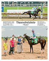 Theoryofrelativity winning at Delaware Park on 6/24/13