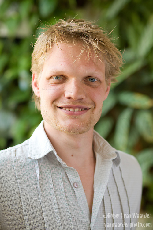 Portrait of Jeroen Maes from the Hub Amsterdam.