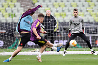 25th May 2021; Gdansk, Poland; Manchester United training at the Stadion Energa Gdańsk prior to their Europa League final versus Villarreal on May 26th;  DAVID DE GEA 3