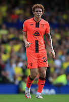 25th September 2021; Goodison Park, Liverpool, England; Premier League football, Everton versus Norwich; Josh Sargeant of Norwich City