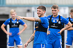St Johnstone Training…31.07.19<br />Ross Callachan pictured during training ahead of Saturday's opening game of the season at Celtic Park.<br />Picture by Graeme Hart.<br />Copyright Perthshire Picture Agency<br />Tel: 01738 623350  Mobile: 07990 594431
