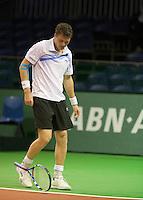 06-02-11, Tennis, Netherlands, Rotterdam, ABNAMROWTT 2011, Evgeny Korolev