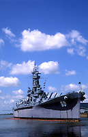 Mobile Alabama, Battleship Memorial Park, battleship USS Alabama, USA