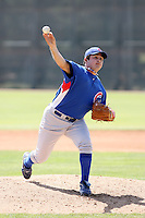 Marco Carrillo, Chicago Cubs 2010 minor league spring training..Photo by:  Bill Mitchell/Four Seam Images.