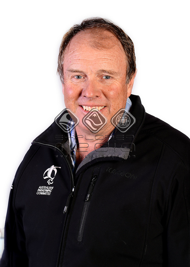 Alan Dean / Team Official <br /> Australian Paralympic Committee<br /> 2014 Sochi Paralympic Games<br /> (Games Processing)<br /> Melbourne VIC April 2013<br /> © Sport the library / Jeff Crow