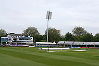 General view of the ground with the covers on the pitch ahead of Essex CCC vs Nottinghamshire CCC, LV Insurance County Championship Group 1 Cricket at The Cloudfm County Ground on 4th June 2021