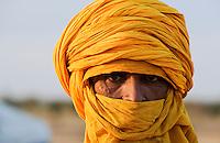 BURKINA FASO Djibo , malische Fluechtlinge, vorwiegend Tuaregs, im Fluechtlingslager Mentao des UN Hilfswerks UNHCR, sie sind vor dem Krieg und islamistischem Terror aus ihrer Heimat in Nordmali geflohen / BURKINA FASO Djibo, malian refugees, mostly Touaregs, in refugee camp Mentao of UNHCR, they fled due to war and islamist terror in Northern Mali - MORE PICTURES ON THIS SUBJECT AVAILABLE!!