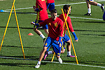 Spainsh Escudero  during the training of the spanish national football team in the city of football of Las Rozas in Madrid, Spain. November 09, 2016. (ALTERPHOTOS/Rodrigo Jimenez)