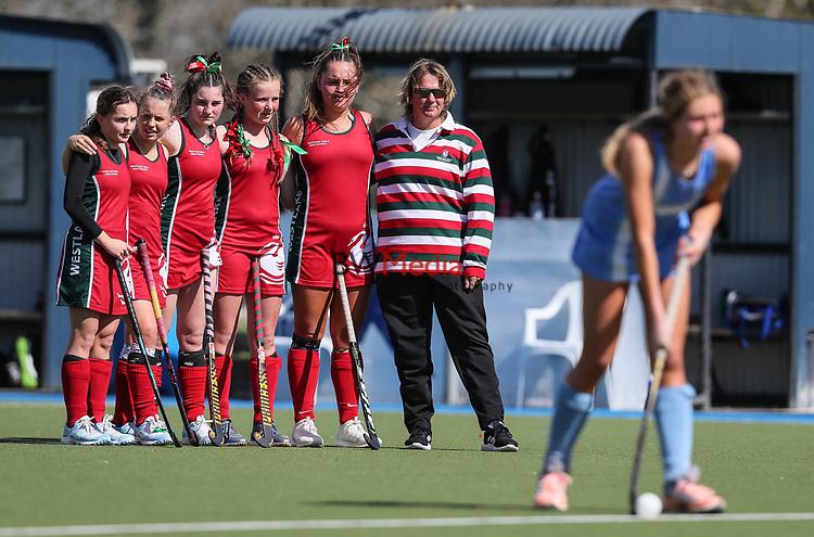 Marie Cup Cup Hockey Final, Westlake v Villa Maria, Lloyd Elsmore Park, Auckland, New Zealand, Saturday September 2019. Photo: Simon Watts/www.bwmedia.co.nz/HockeyNZ