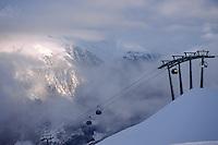 Giggijoch-Bahn bei Sölden in Tirol, Österreich