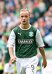 Hibs v St Johnstone...25.08.12   SPL.Leigh Griffiths.Picture by Graeme Hart..Copyright Perthshire Picture Agency.Tel: 01738 623350  Mobile: 07990 594431